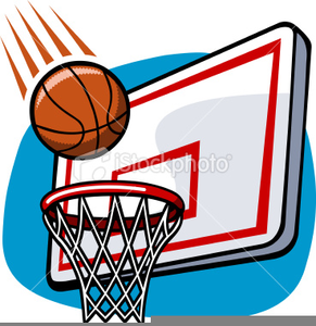 basketball in hoop clipart free images at clker com vector clip rh clker com basketball hoop clipart png clipart basketball hoop