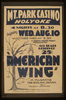 A Federal Theatre Project Presentation  American Wing  A Pulsating New England Drama By Talbot Jennings Image