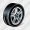 Icon Car Wheel 1 Image