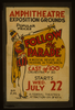 Follow The Parade  [at The] Amphitheatre Exposition Grounds A Musical Revue As Modern As Tomorrow. Image
