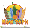 Free Nyc Skyline Clipart Image