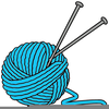 Free Clipart Ball Of Yarn Image