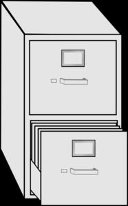 File Cabinet Clip Art at Clker.com - vector clip art online ...