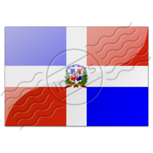 Flag Dominican Republic 7 Image