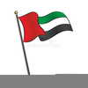 Uae Flag Vector Clipart Image
