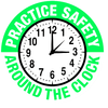 Practice Safety Hard Hat Label Hh Image