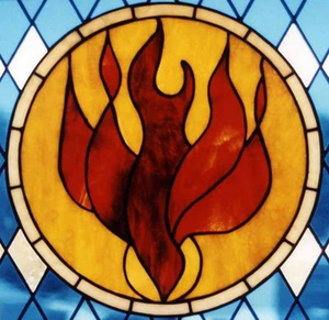 Holy Spirit Fire Dove Image