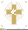 Dove And Cross Clipart Image