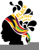 Black History Month Clipart Image