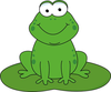 Free Clipart Frogs Animated Image