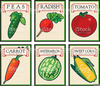 Antique Seed Packet Clipart Image