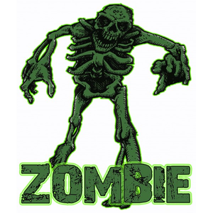 Green Zombie Design Image