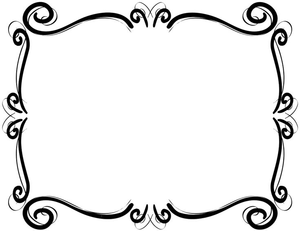 Scrollwork Frames Borders Clipart | Free Images at Clker ...