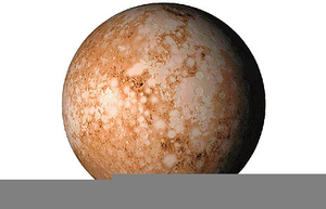 Pluto The Planet Clipart Image