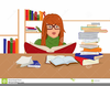Animated Clipart Of People Reading Books Image