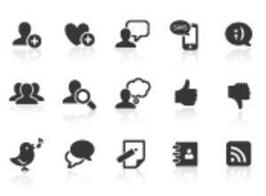 0019 Blog And Social Media Icons Xs Image