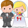 Bride And Groom Clipart Images Image