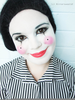 Happy Mime Makeup Image