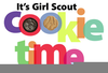 Clipart Girl Scout Cookie Image