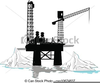 Offshore Rig Clipart Image