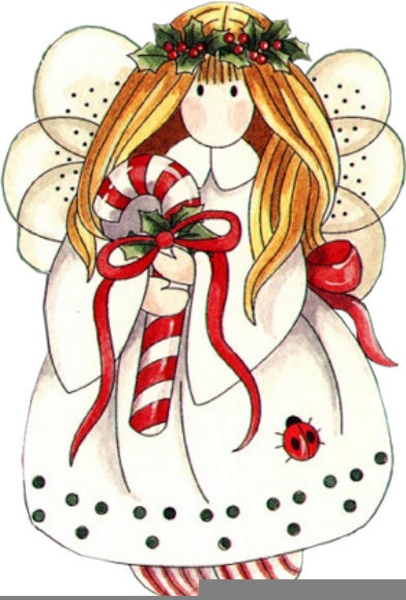 Country Christmas Angels Clipart | Free Images at Clker ...