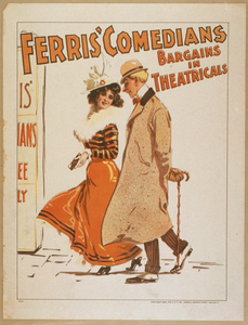 Ferris  Comedians Bargains In Theatricals. Image