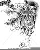 Ornate Scroll Clipart Image