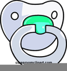 Baby Pacifiers Clipart Image