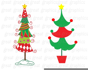 image relating to Free Printable Christmas Clip Art identify Printable Xmas Tree Clipart Cost-free Illustrations or photos at