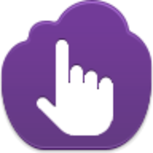 Pointing Icon Image