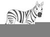 Cute Animal Clipart Black And White Image
