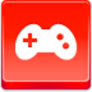 Free Red Button Icons Joystick Image