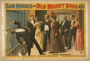 Sam Morris In Old Money Bags A Comedy Drama. Image