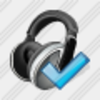 Icon Ear Phone Ok Image