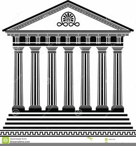Clipart Greek Column Image