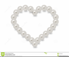 Pink Pearls Clipart Image