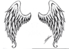 Angel Wings Drawing Image