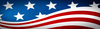 United States Stylish Flag Header Image