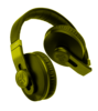Yellow Headphones Image