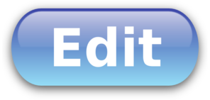 Edit Button Blue Clip Art