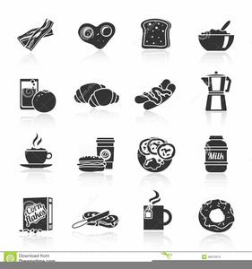 Breakfast Food Clipart Graphics Image
