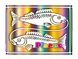 Pisces Of The Zodiac Image