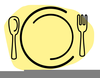 Fork Spoon Clipart Image