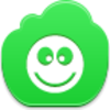Free Green Cloud Ok Smile Image