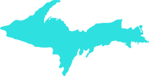 Michigan Upper Peninsula Clip Art