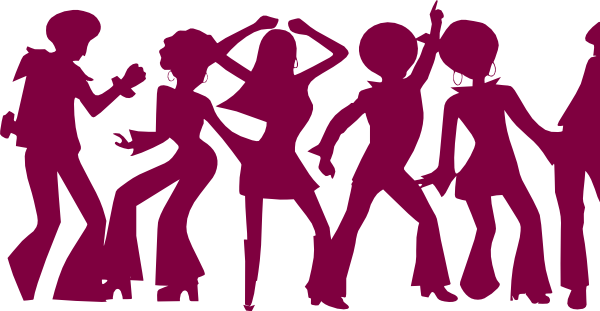 dancing people by markus clip art at clker com vector clip art rh clker com Group Cheering Clip Art dancing stick figures clip art