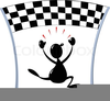 Racing Finish Line Clipart Image