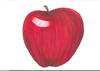 Teacher Apple Clipart Image