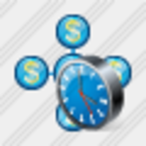 Icon Area Business Clock Image