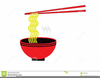 Free Clipart Bowl Of Noodles Image